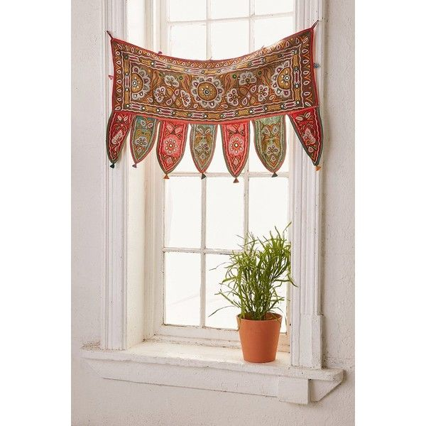 One-Of-A-Kind Window Valance (7,430 PHP) Liked On Polyvore