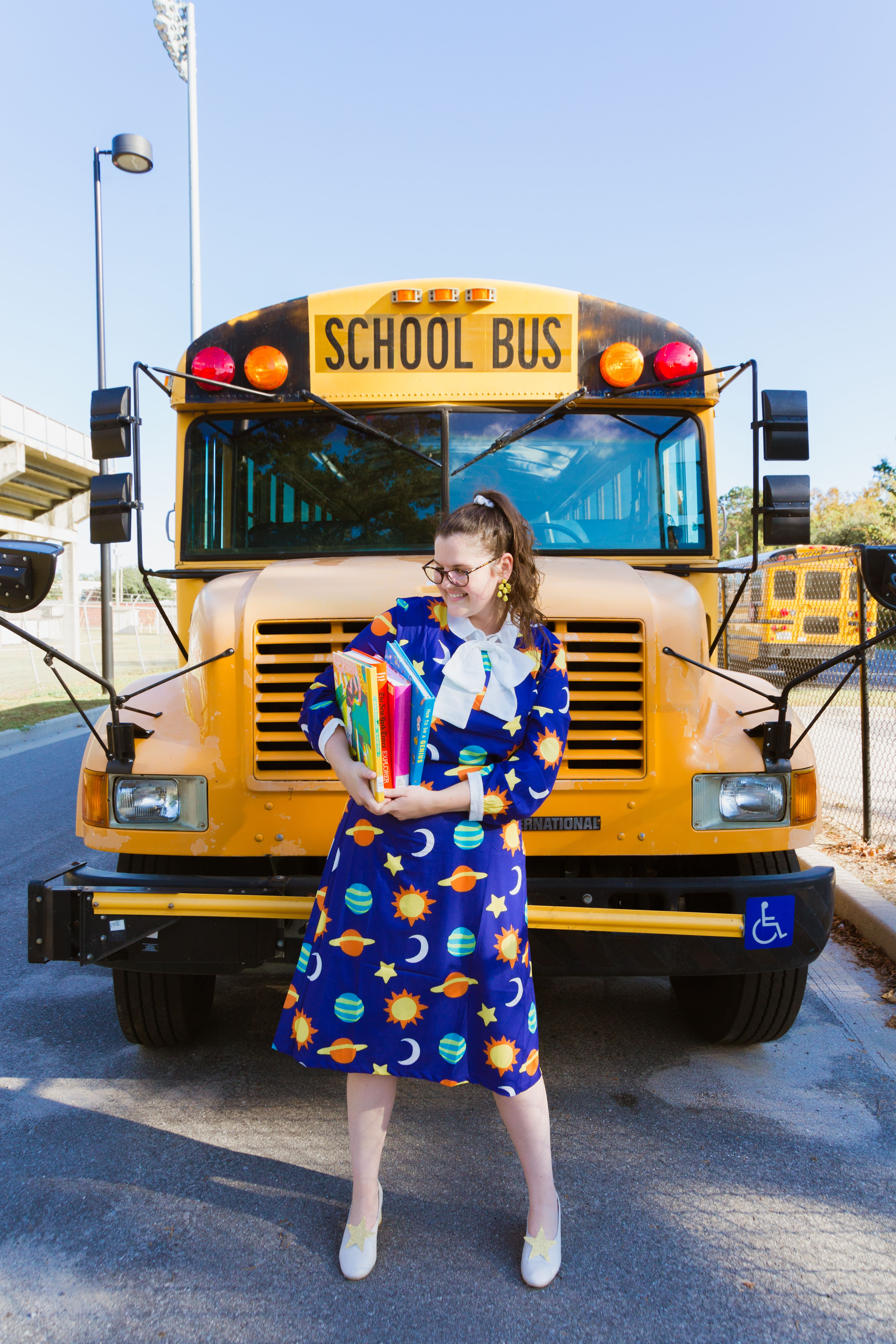 Hilloween Ms Frizzle Costume