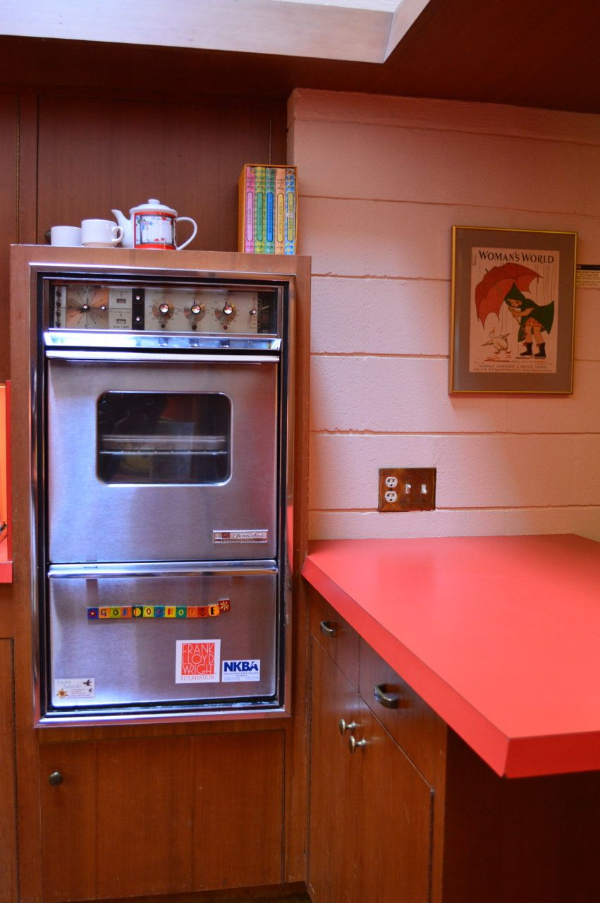 Frank Lloyd Wright's Kitchen Innovations: The Gordon House
