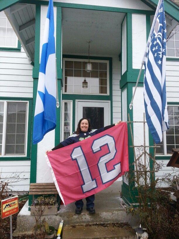 1st 12th Woman flag by Flags A Flyin
