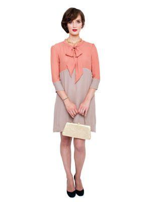 Beginner sewing pattern - Hazel: color blocking dress | DIY & Crafts ...