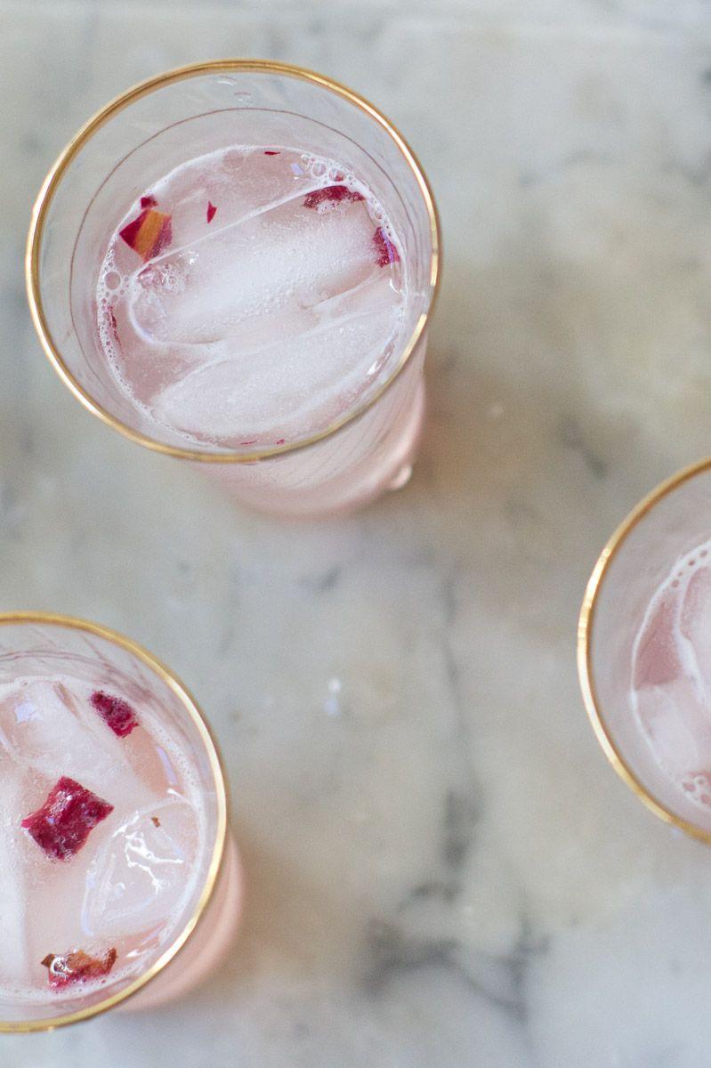 Rose & Rhubarb Syrup