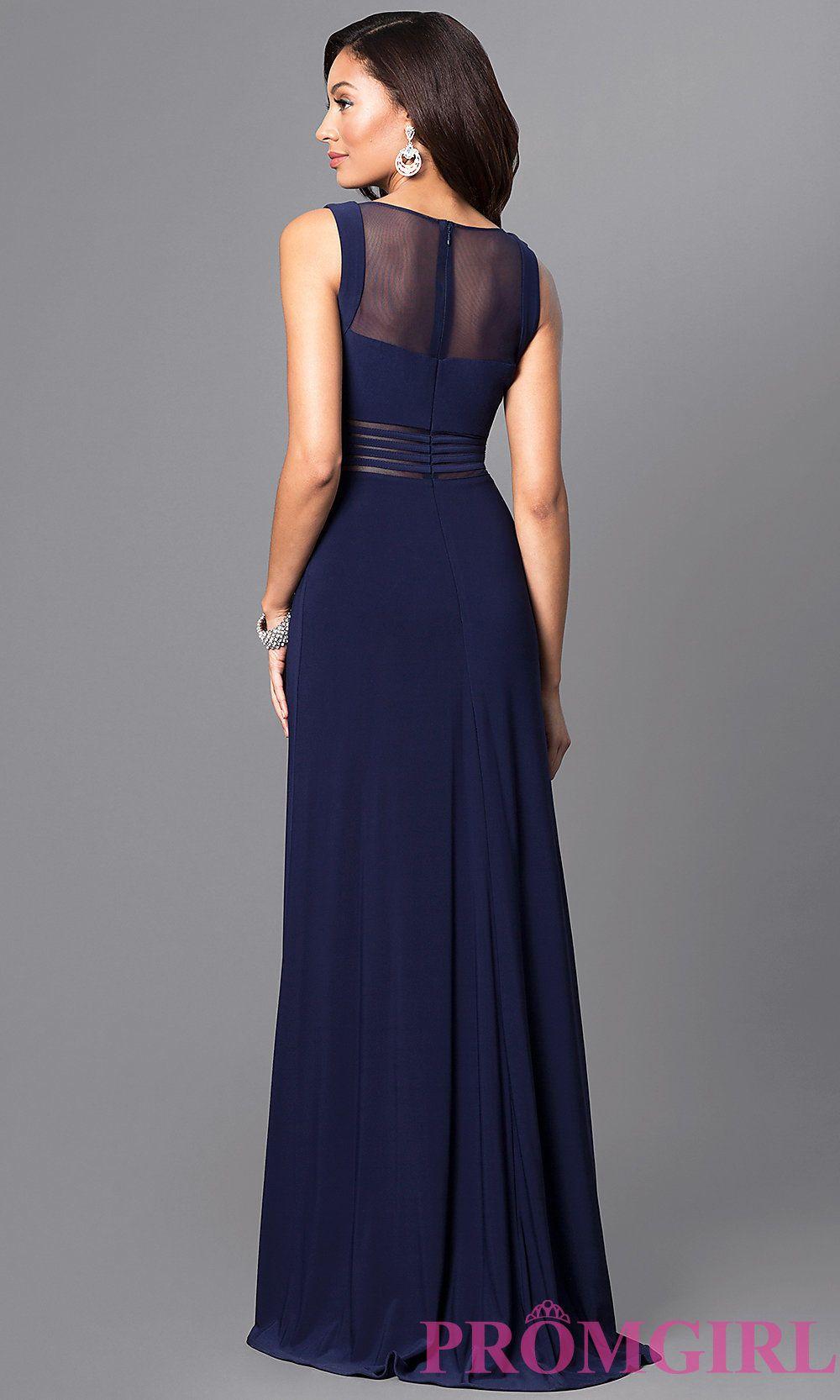 Pin By Roka On Dresses Jersey Prom Dress Blue Dress Formal Dresses [ 1666 x 1000 Pixel ]