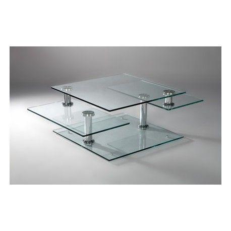 Eda Moving Glass Coffee Table Coffee Table Modern Glass Coffee