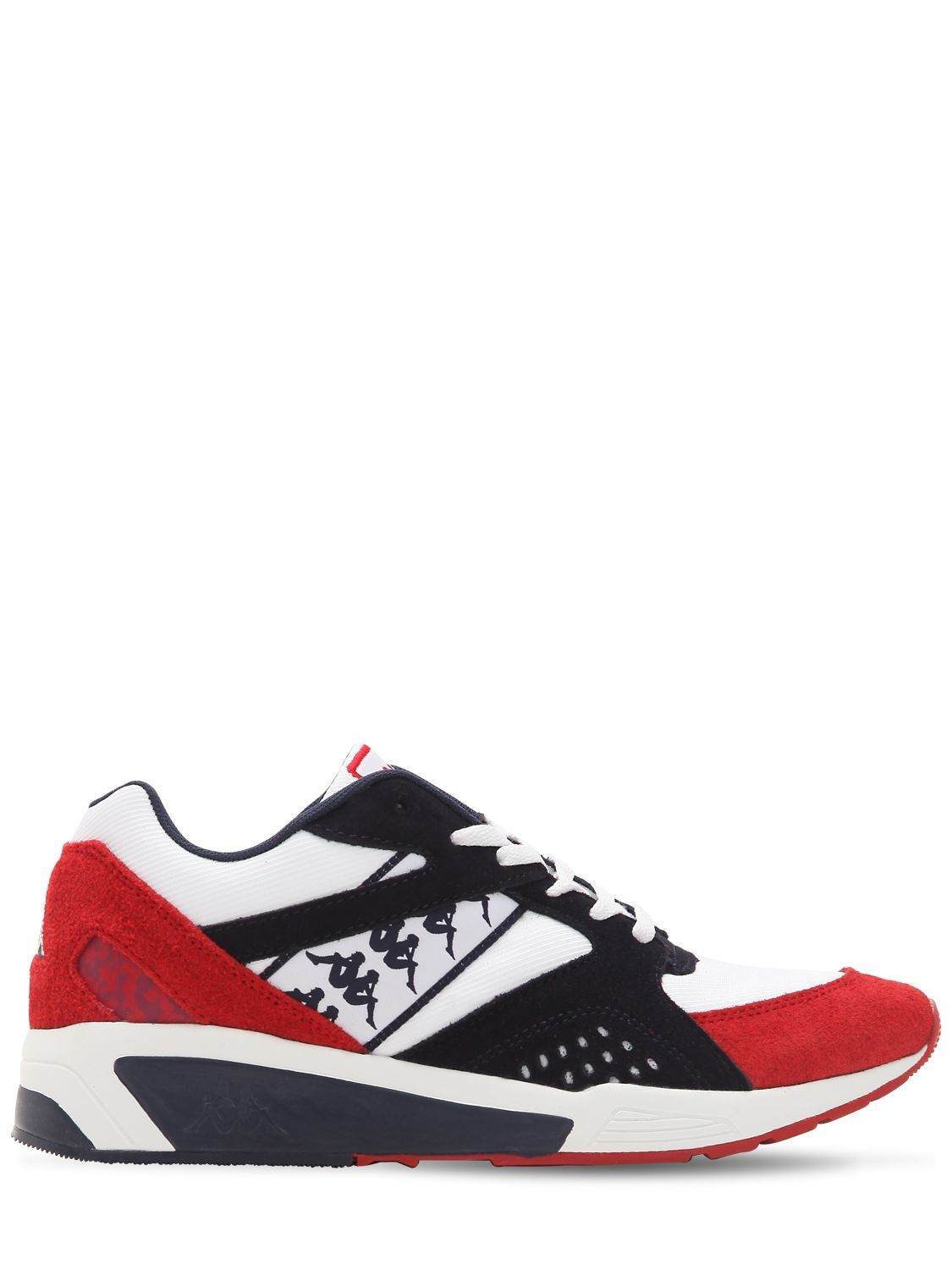 separation shoes 4e31a 101fc KAPPA MESH   SUEDE RUNNING SNEAKERS.  kappa  shoes