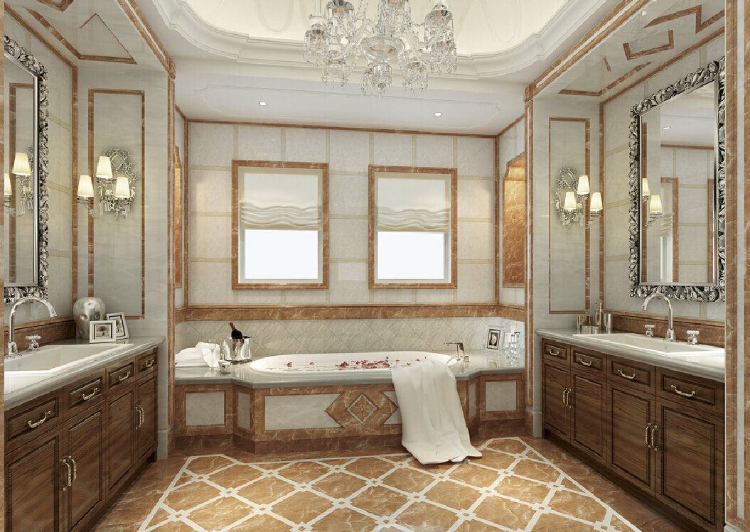 New home design model bathroom neoclassical | Bathroom ... on Model Bathroom Ideas  id=60275