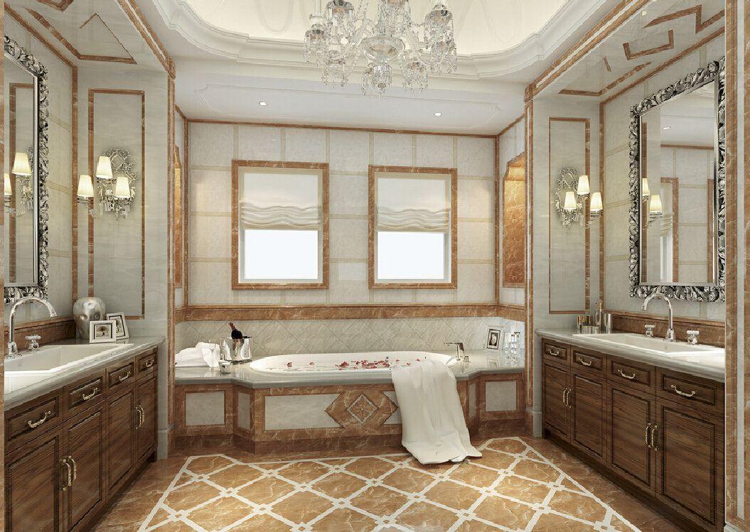 New home design model bathroom neoclassical | Bathroom ... on Model Bathroom Ideas  id=60275