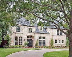 Plan W36203TX: Premium Collection, French Country, Corner Lot, Luxury, European, Photo Gallery House Plans & Home Designs