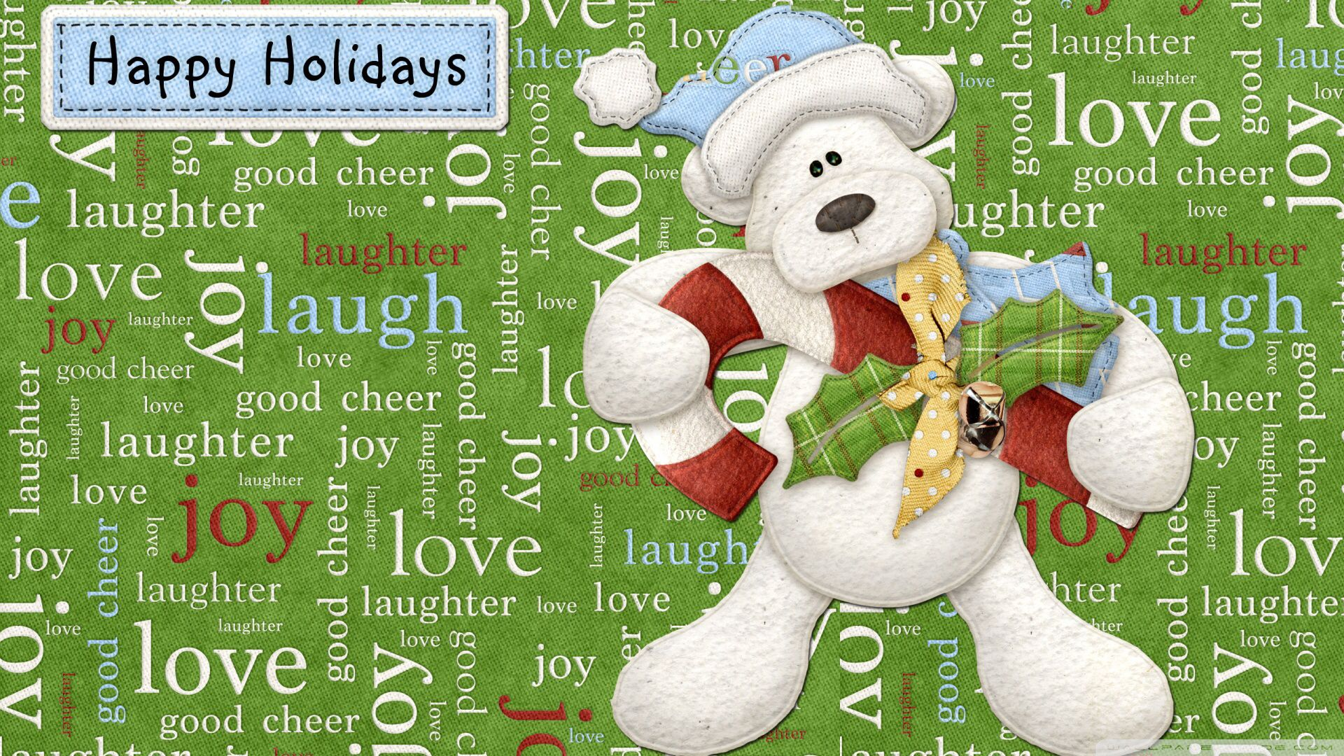 To all... Holiday, Holiday cartoon, Holiday wallpaper