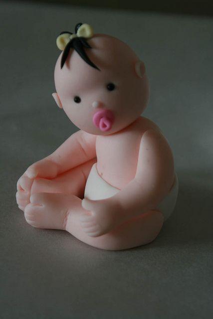 baby met strikje