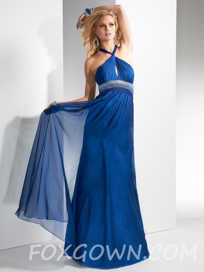 Blaue lange kleider gunstig