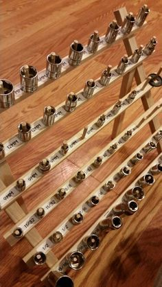 Image Result For Wall Mounted 3 8 Drive Socket Wrench Organizer
