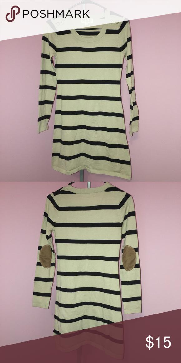 11ef88b9f54 Pink Rose Petite Small Sweater Dress Tunic Pink Rose Size Petite Small Striped  Sweater Dress