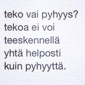 tekopyhyys (4.10.2014)