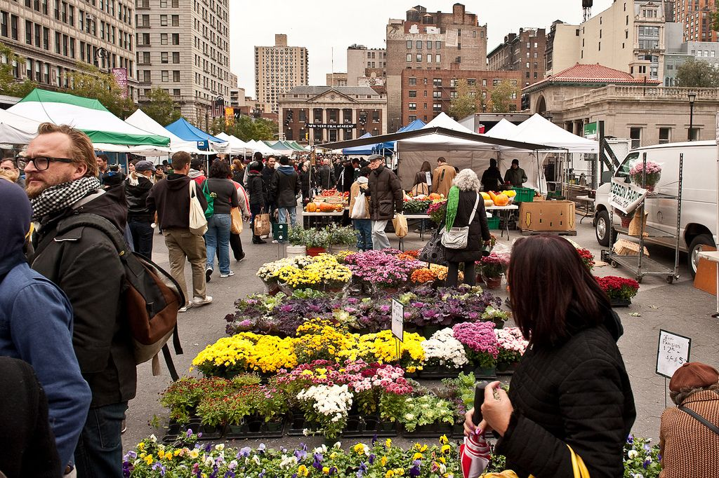 Union Square Market New York City