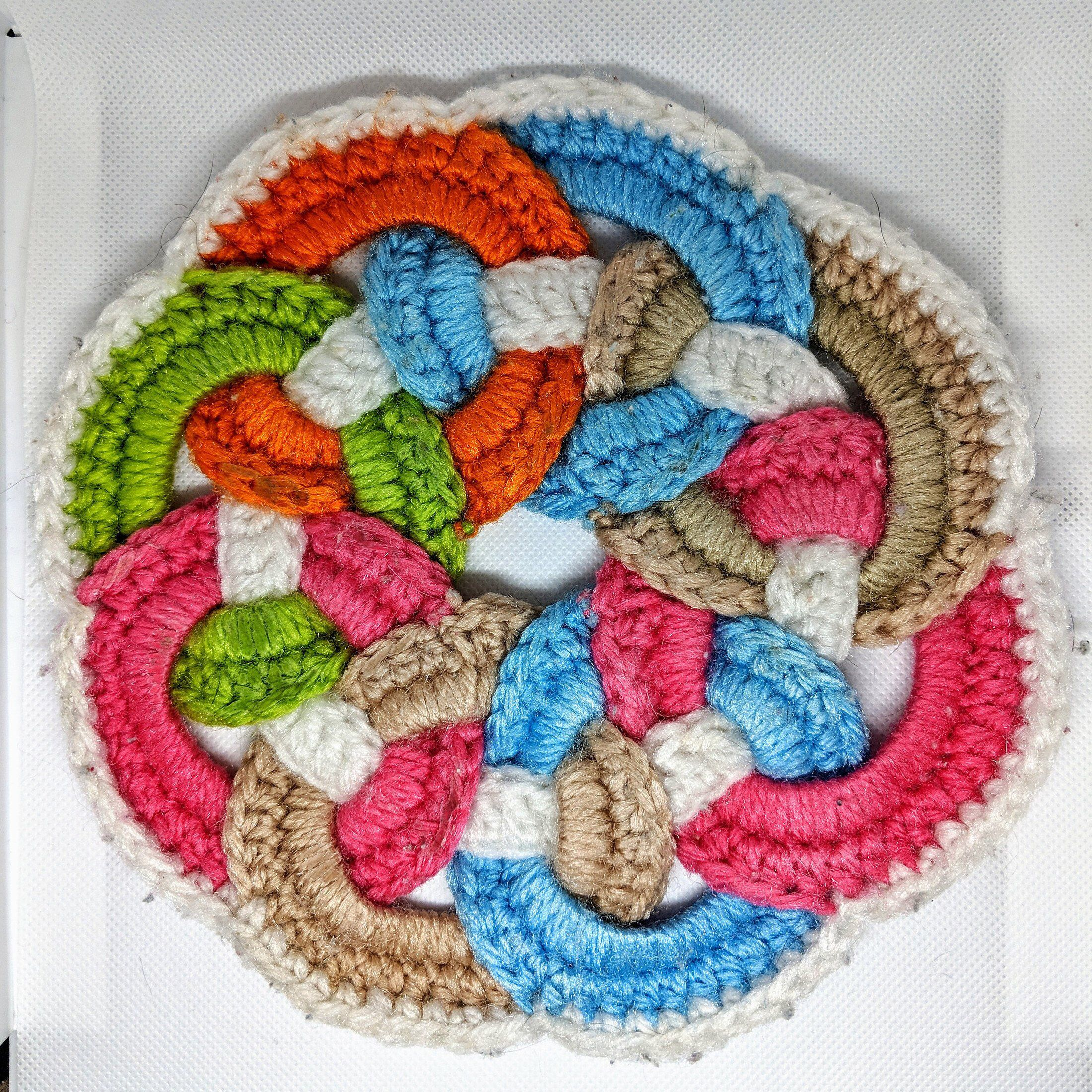 Items similar to Crochet pattern, Black and white twenties