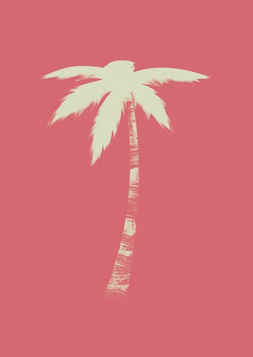 Illustrated Palm Tree Palm Tree Art Palm Trees Tree Art
