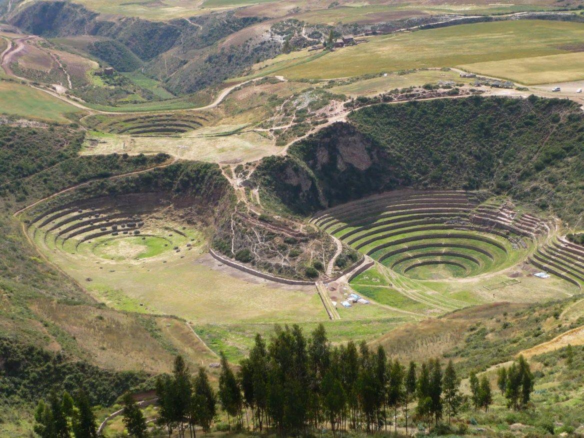 Las Terrazas Circulares De Moray Son Andenes Creados Por