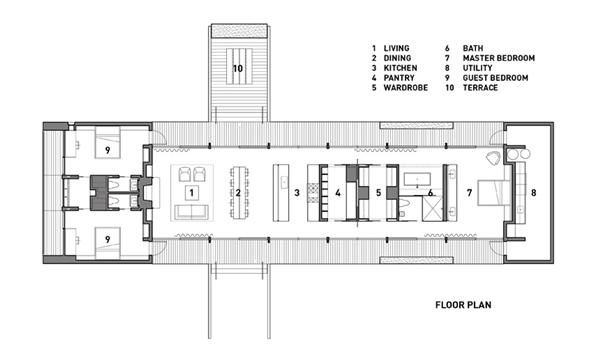 Modern Tiny House Floor Plans | ... home plans eco friendly summer ...