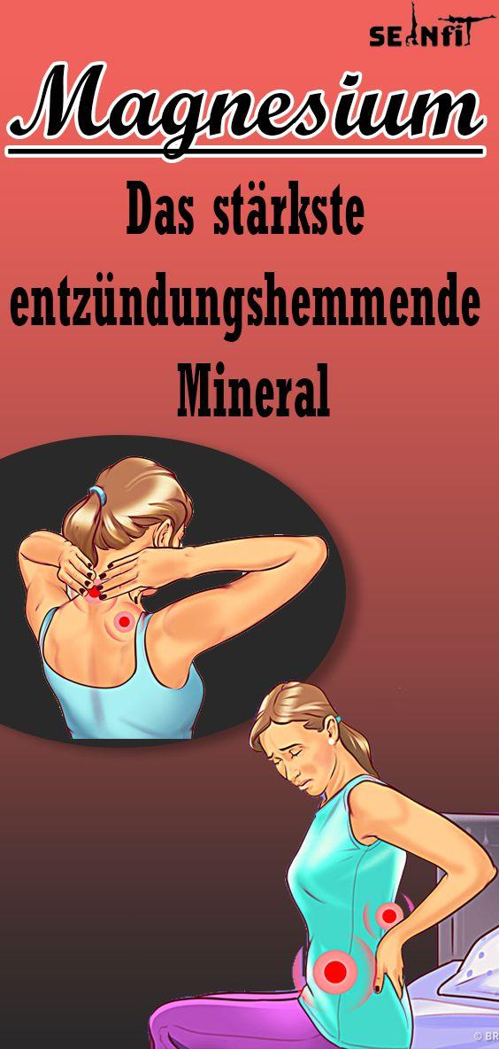Warum Magnesium das stärkste entzündungshemmende Mineral ist das der Mensch kennt Studien zeigen dass Magnesium unerlässlich ist um chronische Entzünd...