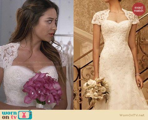 Emily S Wedding Dress On Pretty Little Liars