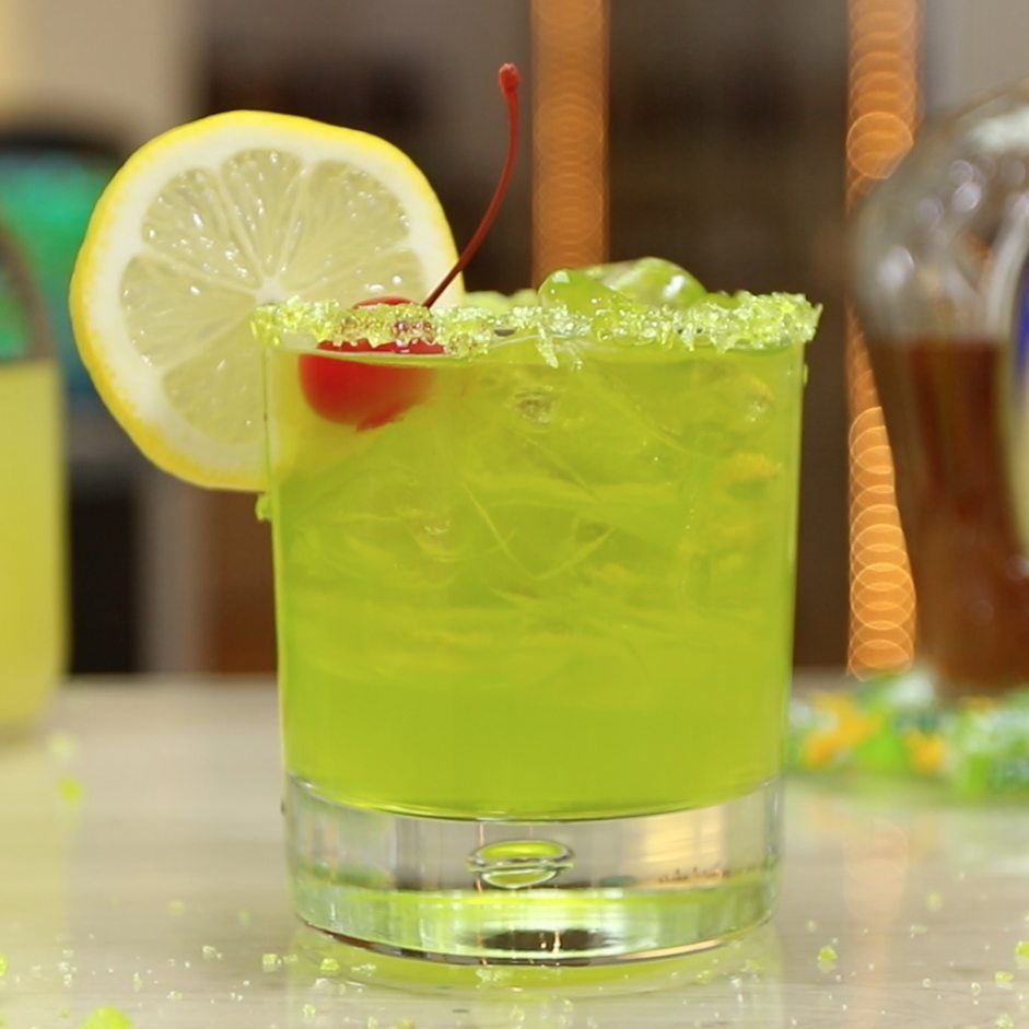 Green Apple Jolly Rancher Cocktail