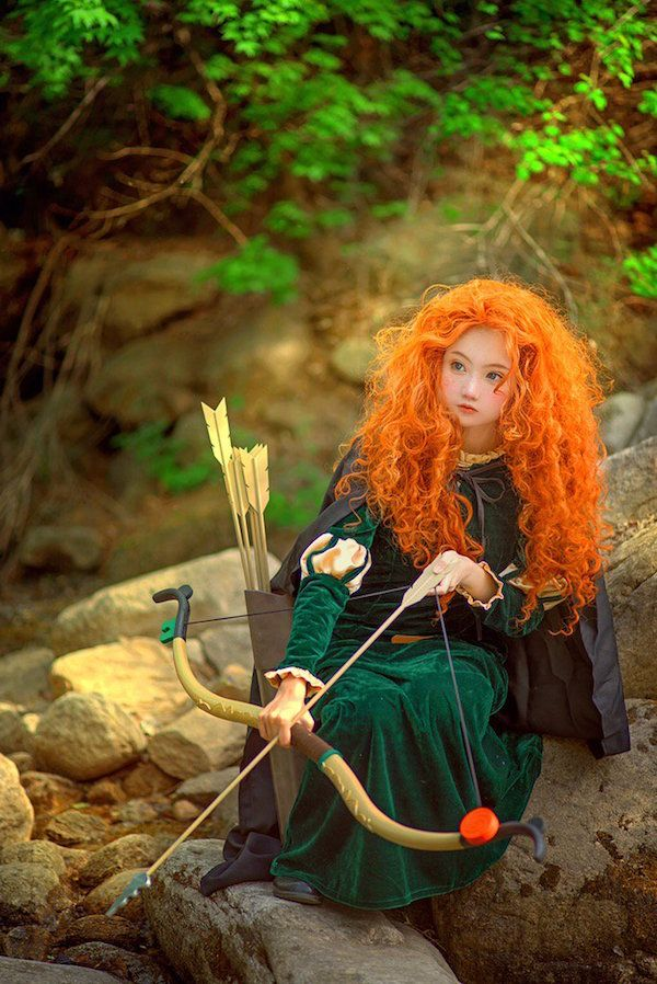 This Merida Cosplay Is Unreal  Delightful Disney Stuff. Display Ideas For November. Kitchen Counter Ideas Oak Cabinets. Paint Ideas Valspar. Kitchen Island With Pillars Ideas. New York Kitchen Ideas. House Ideas Modern. Porch Crawl Ideas. Makeup Mask Ideas