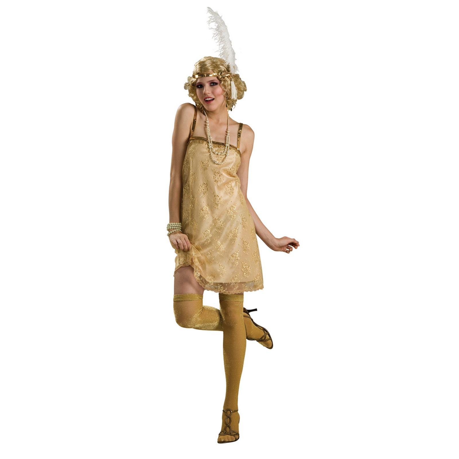 4185de3c46f Costume Déguisement Rubies Fille Femme Adulte Gatsby Années 20 ...
