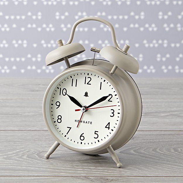 Thunder bell Alarm Clock With Extra Loud Ringer Light /& Snooze