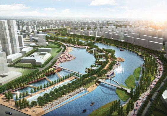 Qingliu River Landscape Concept   Chuzhou China   Tract & SIAD « World  Landscape Architecture – - Qingliu River Landscape Concept Pinterest Landscape Architecture