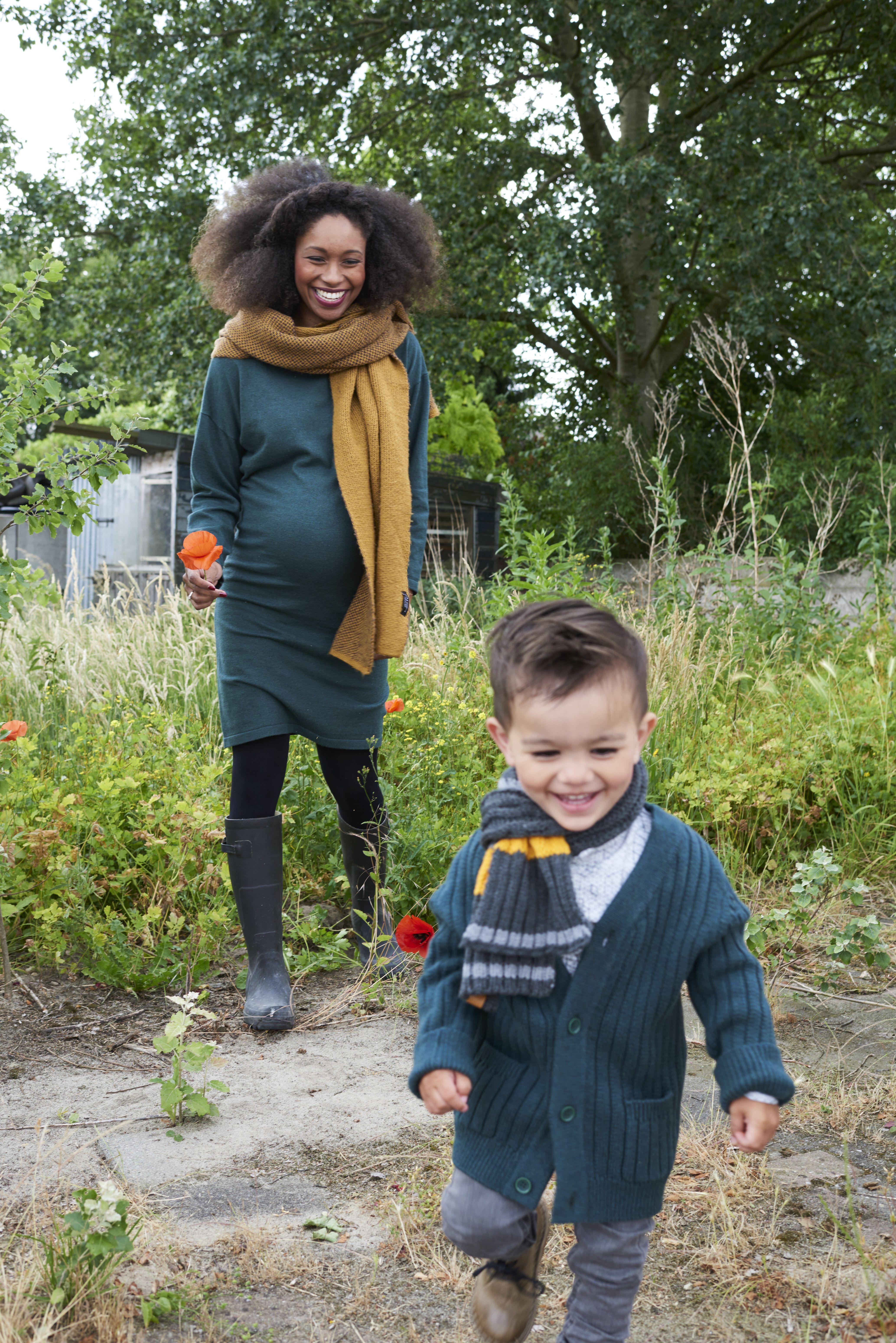 Prenatal Zwangerschapskleding.Prenatal Zwangerschapsjurk Mamafashion Zwangerschapskleding
