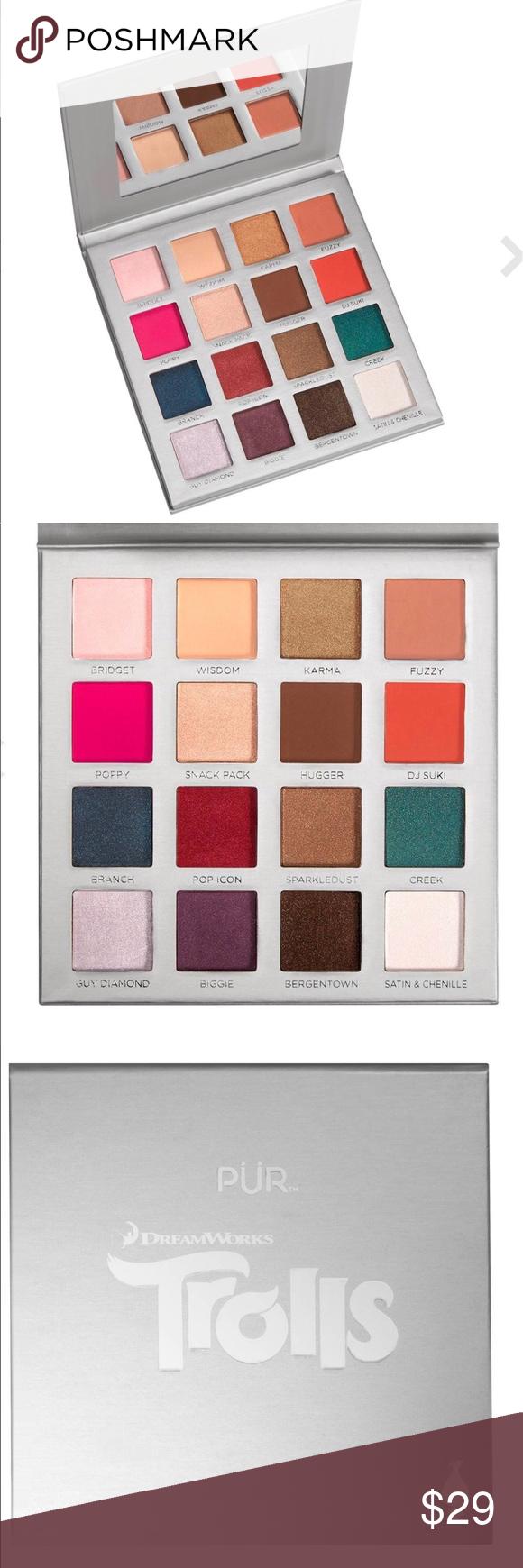 Pur Cosmetics Dreamworks Trolls Palette Pur cosmetics