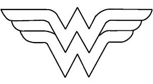 Resultado De Imagen De Wonder Woman Plantilla Logo De La Mujer Maravilla Cumpleanos De La Mujer Maravilla Disfraces Mujer Maravilla Nina