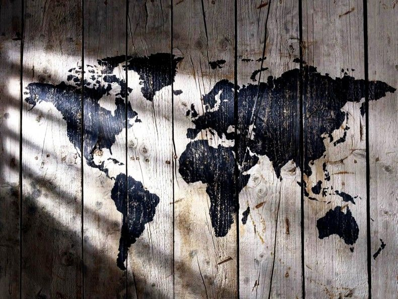 World map wallpaper for anyone who loves geography world map world map wallpaper for anyone who loves geography world map wallpaper on wood gumiabroncs Choice Image