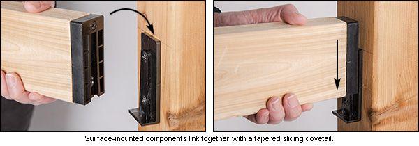 Best Titan 2X4 Railing Connectors Building A Deck Deck 640 x 480