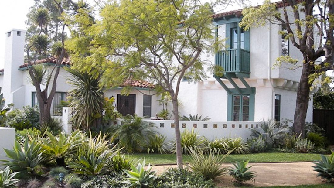 April Palmer Landscape Design Spanish Revival Spanish Style