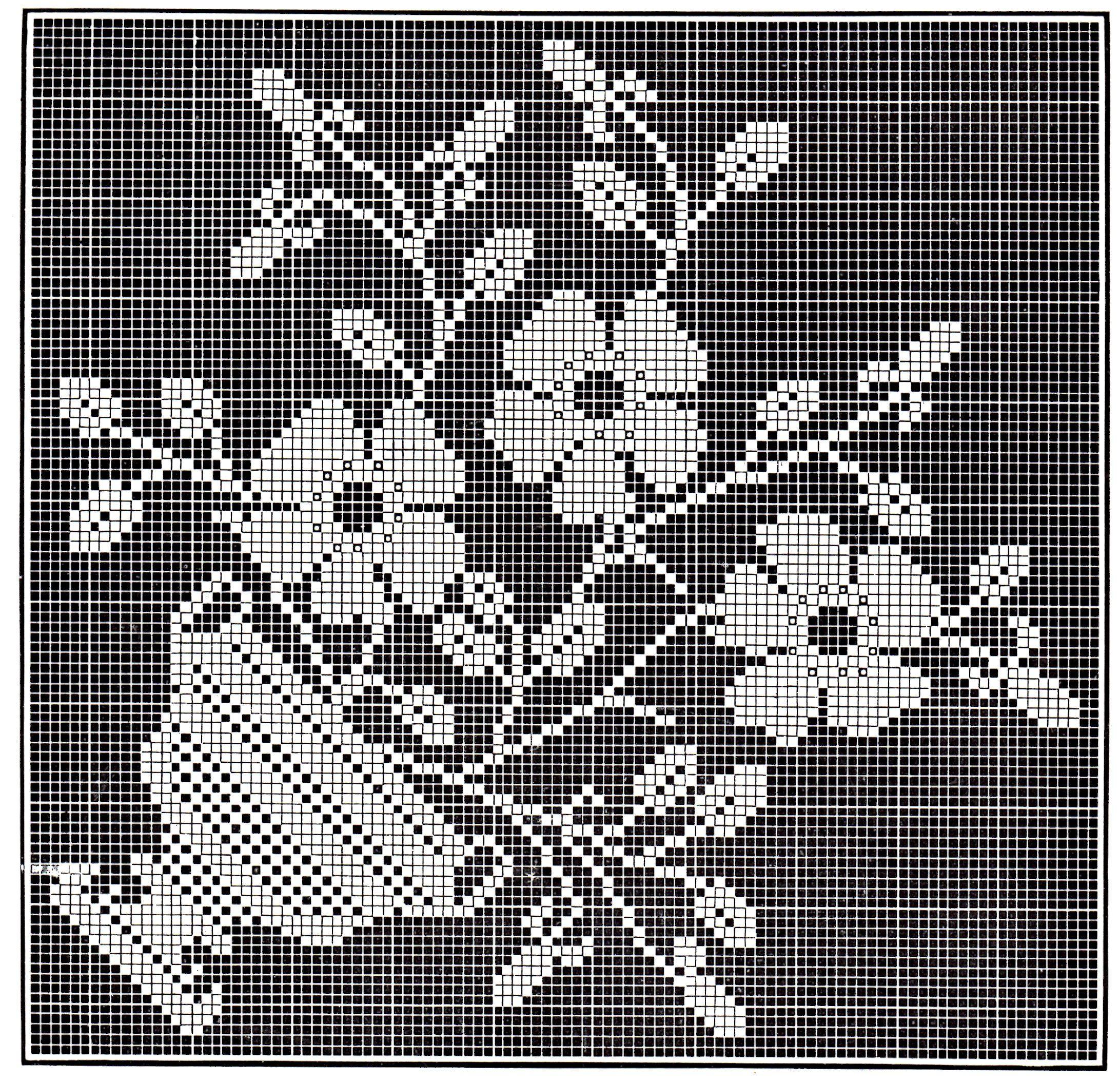 Free filet crochet patterns free filet crochet pattern vintage free filet crochet patterns free filet crochet pattern vintage crafts and more page bankloansurffo Images
