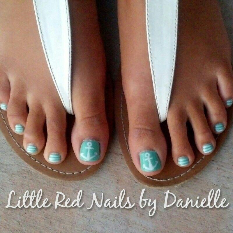 Summer nail art | Little Red Nails | Pinterest | Summer ...