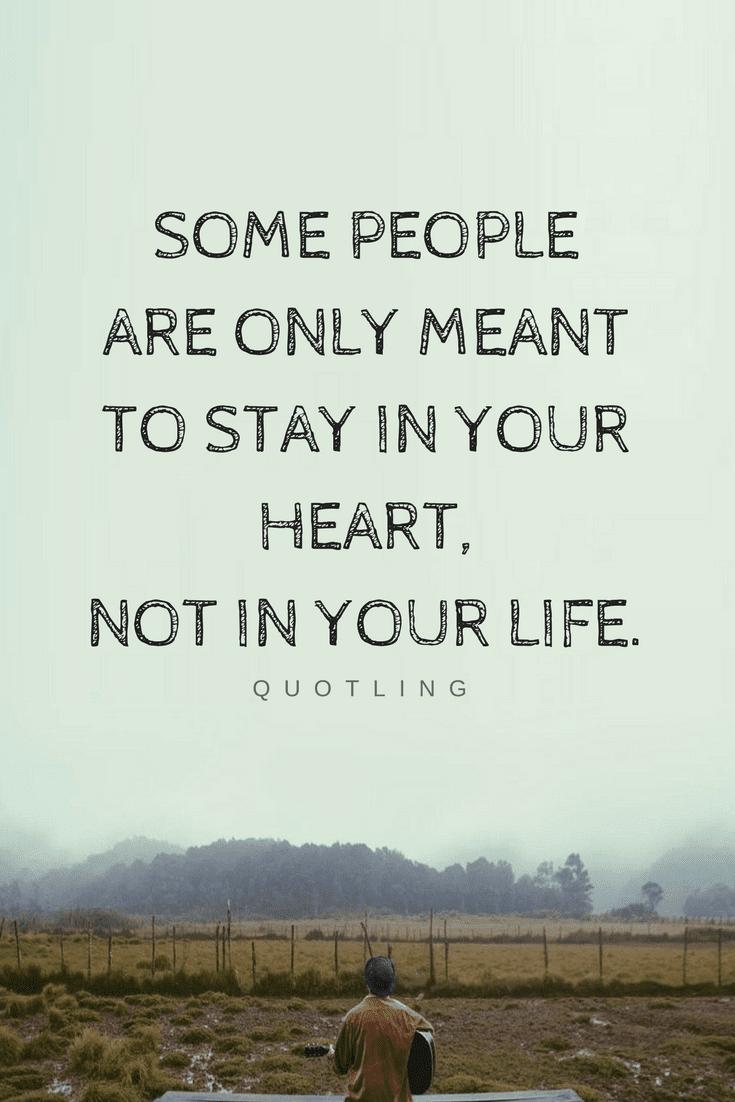 Quotes Sometimes You Have To Let Go Even Those Whom You Love Because