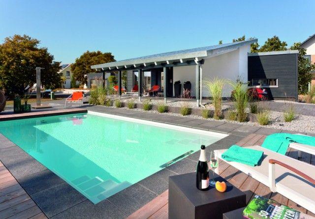 Piscine Jardin Sec Maison Mobilier Et Design