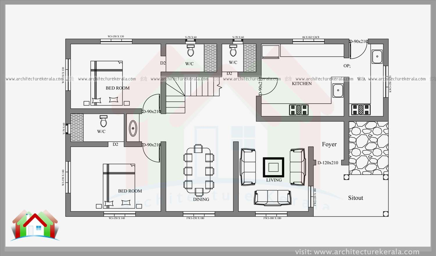 Image Result For Kerala House Plans