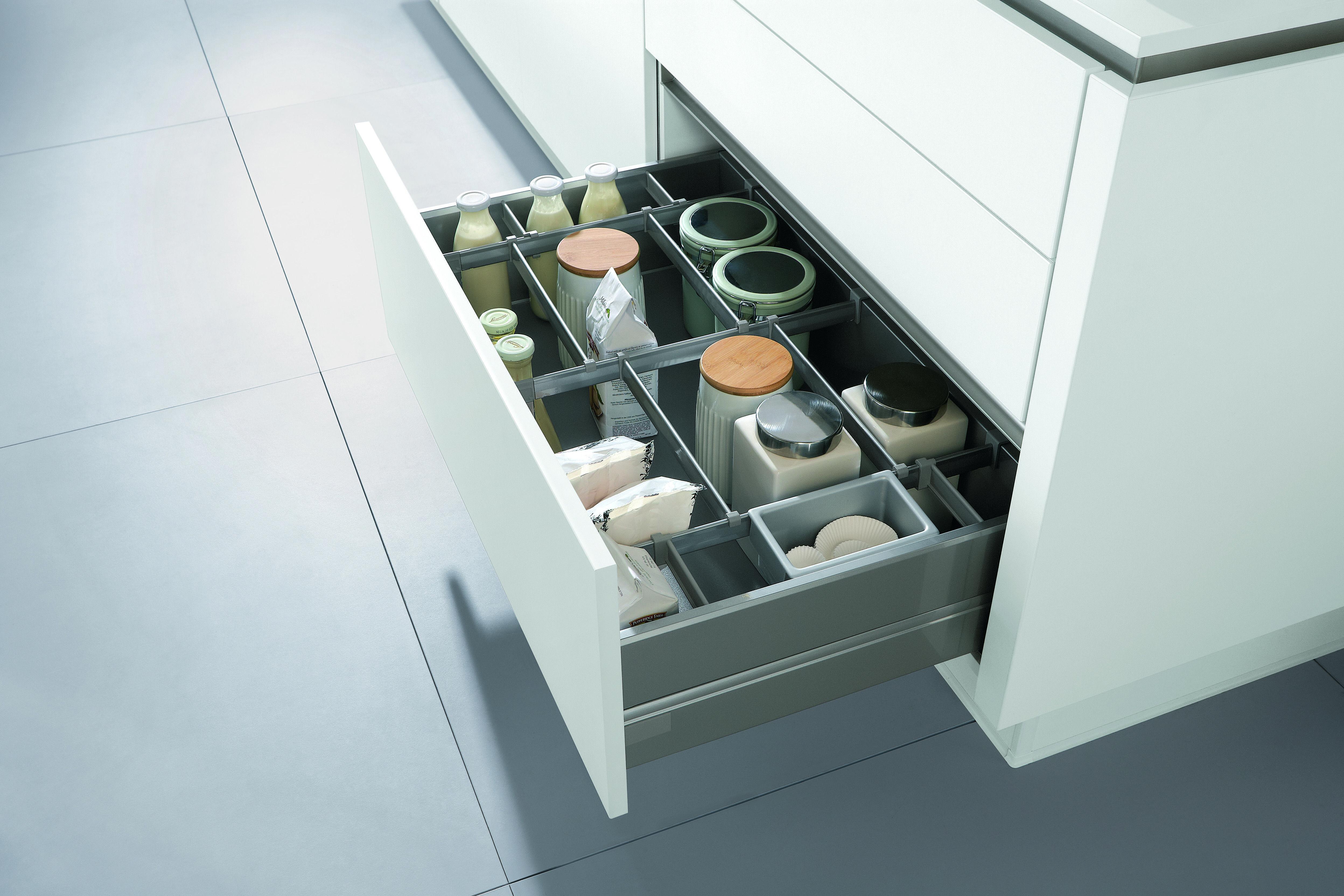 Keuken i kast indeling i greeploos i lade keuken for Interieur ideeen keuken