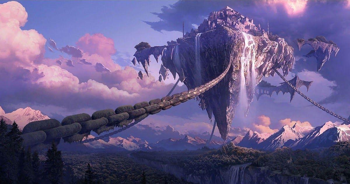 Pin By Pedrosu Herman On Anime In 2020 Anime Scenery Fantasy Landscape Landscape Wallpaper