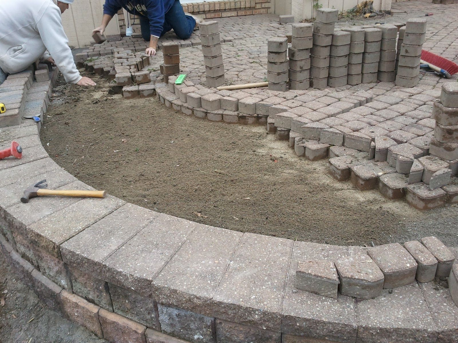 Awesome Huge Benefits Of Brick Paver Patios, Walkways, Driveways, And Modular  Retaining Walls. For Me This Week, It Was A Time Flashback To The  Incredible Pace .