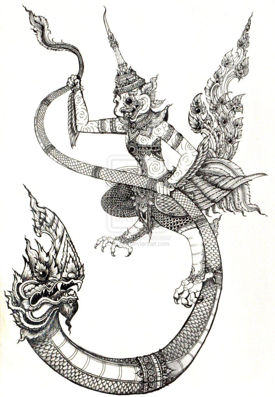 naga tattoo google search thai inspiration pinterest. Black Bedroom Furniture Sets. Home Design Ideas
