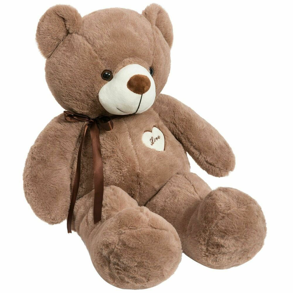 Giant Teddy Bear 32in Plush Soft Cotton Cute Big Huge Large Stuffed Animals Toy