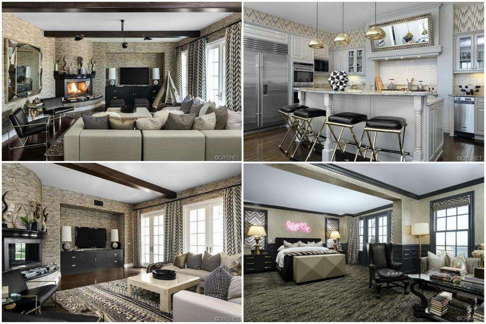 Kourtney Kardashian Home Wohnzimmer Living Room Pinterest - Kourtney kardashian bedroom furniture