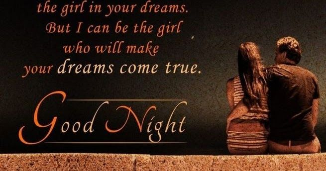 good night message for a lover