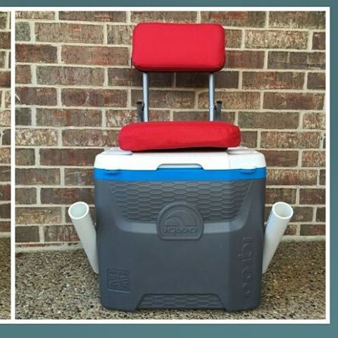 fishing cooler chair costco gravity check out this great diy project it now has a built in and