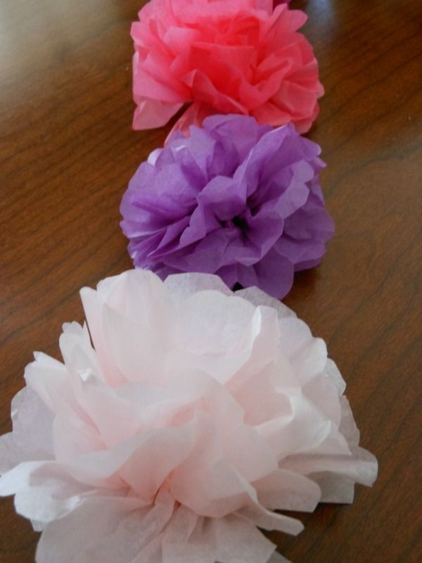 How To Make Tissue Paper Flowers Napkin Rings For A Tea Party Arts